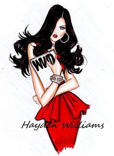 'Ravishing in Red' by Hayden Williams~Love this one~❥
