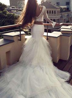 Tendencias de boda 2017: Vestidos de novia de dos piezas [FOTOS] (26/40) | Ellahoy