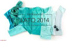 #Kazar #trendy Turkusowe ubrania na lato :)