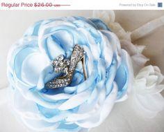 ON SALE Cinderella Headband  Cinderella Bows  by KaticesBowtique