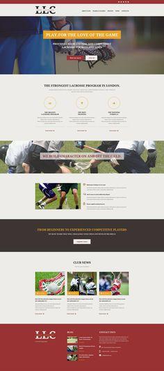 Website Theme , Sport