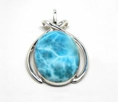 Mystical Properties- Larimar transmits the tranquility of the Caribbean Sea and air. Natives believe that the stone softens, enlightens and heals in a physical, emotional, mental and spiritual fashion. Larimar may help improve self expression, patience, acceptance, simplicity and creativity.