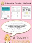 Interactive Student Notebook...I think I want this, but I can't see sample pages very well.
