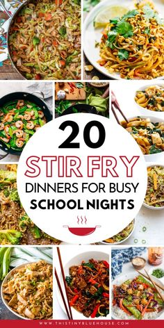 99 Crazy Busy School Night Meal Ideas Make busy weeknight dinners easy with these delicious one pot wonder stir fry dinners. These busy school night meal ideas are perfect on night when you need to get a delicious meal on the table quick! One Pot Dinners, Easy Weeknight Dinners, Quick Meals, Quick Family Dinners, Asian Recipes, Healthy Recipes, Chinese Recipes, Easy Dinner Recipes, Stir Fry