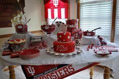 Indiana University table setting