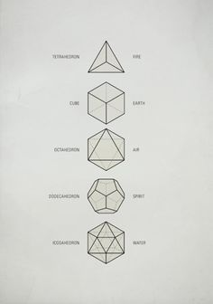 Geometric shapes.