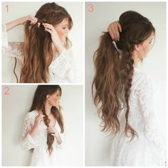 3 tutos de coiffures tressées pour un look bohème - Les Éclaireuses