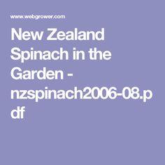 New Zealand Spinach in the Garden - nzspinach2006-08.pdf