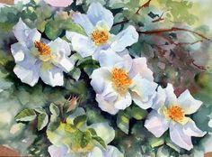 7 das Artes: As aquarelas de Ann Mortimer, são pura luz, cor e alegria!
