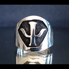 BABYLON 5 PSY CORPS Emplem - Sterling Silver Ring 925 - Custom Fitted Sizes