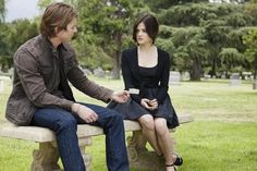 Drew Van Acker and Lucy Hale in Pretty Little Liars