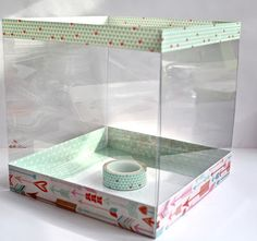 Clear Scraps Blog: Clear Scraps Acrylic Valentine's Box Tutorial by Pinky! Acrylic Sheets, Acrylic Box, Clear Acrylic, Valentine Day Boxes, Valentine Crafts, Valentines, Projects For Kids, Diy Projects, Clear Gift Boxes