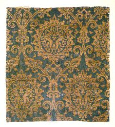 Lampas woven silk with rabbits | Iran or Iraq, 14th century | Cluny