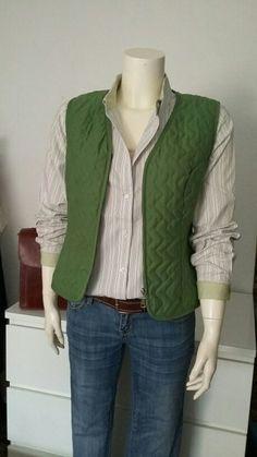 6a36862d9 Camisa rayas Tommy Hilfiger original Chaleco Acolchado, Moda Otoño Invierno,  Rayas, Chalecos,