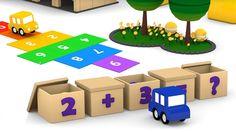 Cartoni animati per bambini: Macchinine Colorate ed il gioco della matem...