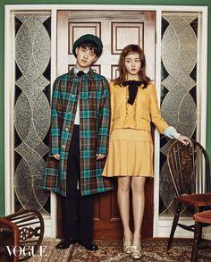 BOY MEETS GIRL: Kim So-hyun & Do Kyung-soo // Vogue Korea