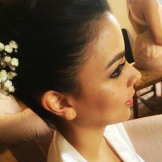 Bride's make-up