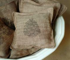 Linen & lavender sachets