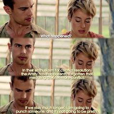 Tris is so Amity. Go with Happiness.