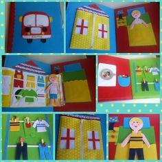 Quiet book#kece aktivite kitabı