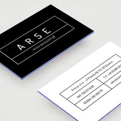 Business Card ARSE