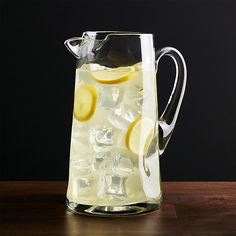 Impressions Pitcher | Crate and Barrel