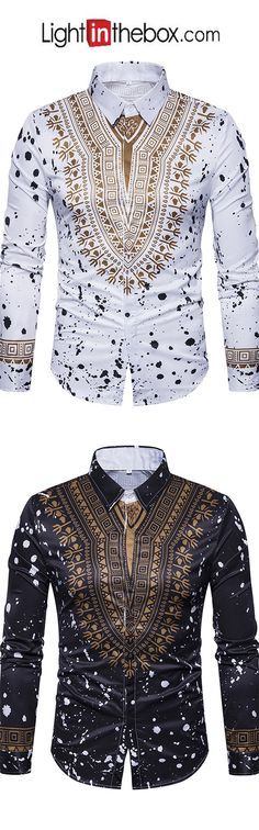 Men's Daily Street chic Shirt