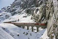 alps by train