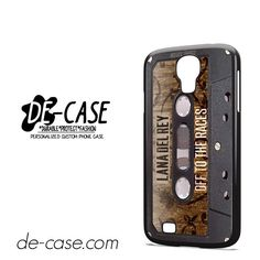 Lana Del Rey Tape DEAL-6339 Samsung Phonecase Cover For Samsung Galaxy S4 / S4 Mini