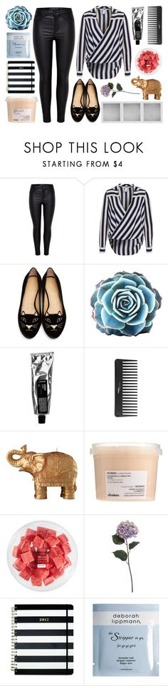 """""""untitled"""" by jet-black-heart555 ❤ liked on Polyvore featuring Charlotte Olympia, Sephora Collection, Holga, Mario Luca Giusti, Davines, FRUIT, Pier 1 Imports, Kate Spade and Deborah Lippmann"""