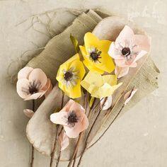 Paper Flowers - Hellebore | west elm