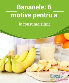 #Bananele: 6 motive pentru a le consuma #zilnic  Bananele au #puține calorii și ajută la slăbit, #oferind, în același timp, numeroase beneficii sănătății. Află mai multe din articolul de astăzi! Cantaloupe, Health Fitness, Food, Folklore, Banana, Essen, Meals, Fitness, Yemek