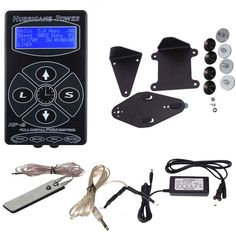 Hurricane Digital Tattoo Machine Power Clip Cord Foot Pedal