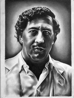 Pablo Escobar Back Tattoo