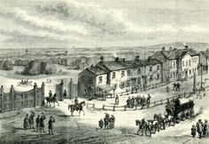 Apsley House and Park Lane London History, British History, Asian History, Tudor History, Vintage London, Old London, London Drawing, Hyde Park Corner, Chelsea London