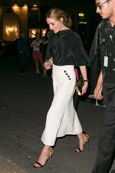 Olivia Palermo's Favorite Shoes - July 6, 2015