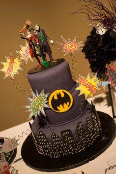 harley quinn and joker wedding cake