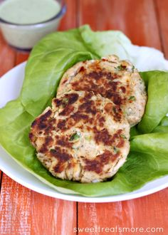 Spicy Jalapeño Tuna Patties ~ These Spicy Jalapeño Tuna Patties do have a little kick.  You can calm it down by removing most of the jalapeño seeds and using less crushed red pepper.  Cook them up 'til they are nice and crispy on the outsides and serve over a bed of lettuce, on a bun, or plain with a side of veggies