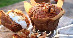 Recept na Bezlepkové jablkové muffiny  z kategorie snadno a rychle, fitness, pro začátečníky, bezlepkové:  ¾ hrnku mouky (já použila směs jáhlové, rýžov...