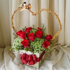 valentine flower arrangements | Home > Floral Arrangements > Valentines Day Floral Arrangements >