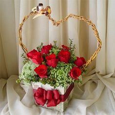 valentine flower arrangements | Home > Floral Arrangements > Valentines Day Floral Arrangements >