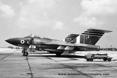 RAF 60 Squadron Gloster Javelin FAW.9 XH842/A at RAF Tengah (1965)