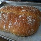 Easy enough beer bread to throw together. I used Oatmeal Porter beer. Nice chewy inside with a crusty outside. YUM