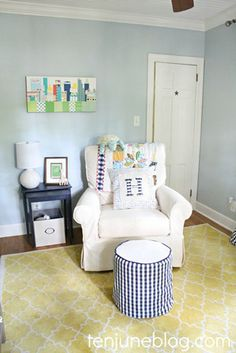 2 kids under 2: how to decorate 2 nurseries cheaply | #BabyCenterBlog