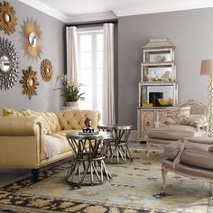 Gold And Grey Living Room Ideas Gray Decor Images Accent Walls On Innovative Impressive Design