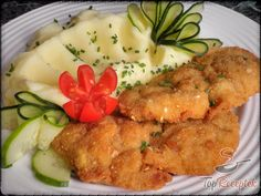 Csirkemell szeletek tejfölös pácban | TopReceptek.hu No Salt Recipes, Cooking Recipes, Hungarian Recipes, Meat Chickens, Poultry, Meal Planning, Food And Drink, Appetizers, Low Carb