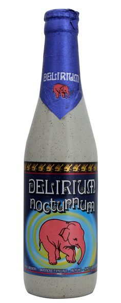 Delirium Nocturnum after drinking this I think I'm seeing a pink elephant #packaging : ) PD