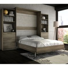 Cheap Cyme Tech Inc. Stellar Home Furniture Full Wall Bed Black Product details Includes hardware Made of laminate Stainless steel handle Cyme Tech Inc. Stellar Home Furniture Full Wall Bed Black Cama Murphy, Murphy Bed Ikea, Murphy Bed Plans, Bedroom Furniture Stores, Home Furniture, Furniture Outlet, Online Furniture, Furniture Buyers, Furniture Shopping
