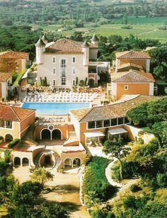 SAINT-TROPEZ -         Château Hôtel de la Messardière, Saint-Tropez.