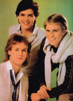 Michael Damian, Doug Davidson and Steven Ford (from the Young and the Restless)